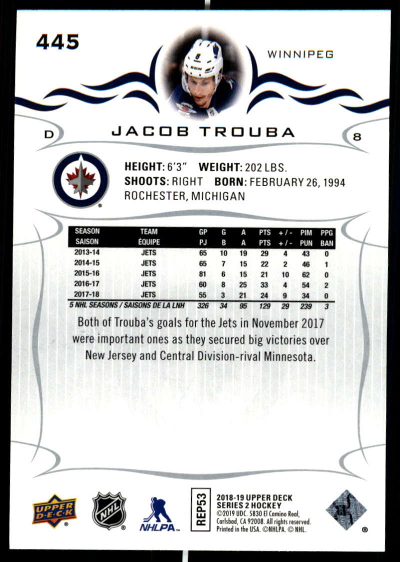 2018-19-Upper-Deck-Series-Two-Hockey-Cards-Pick-From-List-Includes-Young-Guns miniature 381
