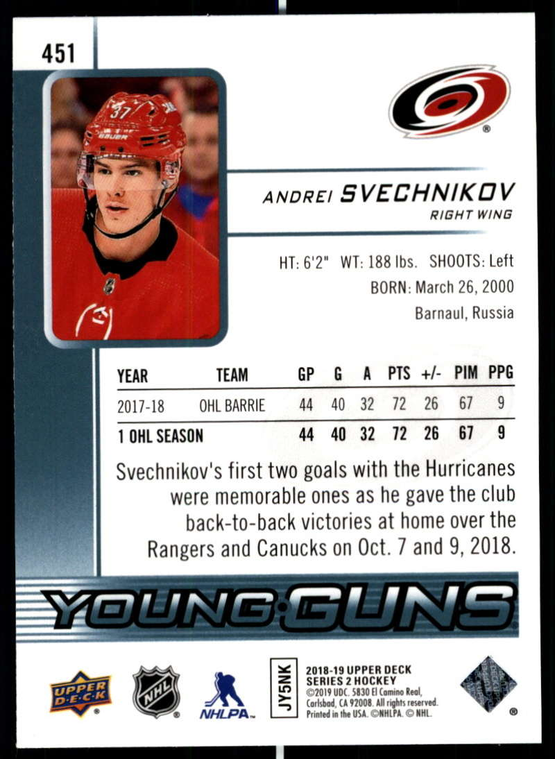 2018-19-Upper-Deck-Series-Two-Hockey-Cards-Pick-From-List-Includes-Young-Guns miniature 393