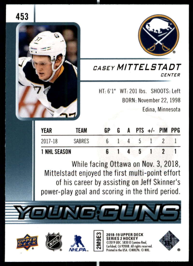 2018-19-Upper-Deck-Series-Two-Hockey-Cards-Pick-From-List-Includes-Young-Guns miniature 395