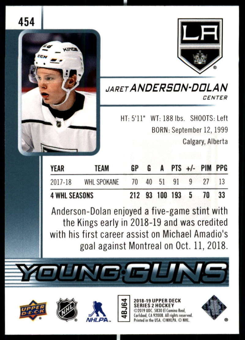 2018-19-Upper-Deck-Series-Two-Hockey-Cards-Pick-From-List-Includes-Young-Guns miniature 397