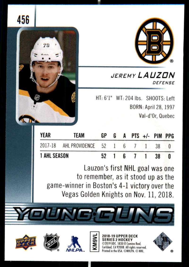2018-19-Upper-Deck-Series-Two-Hockey-Cards-Pick-From-List-Includes-Young-Guns miniature 401