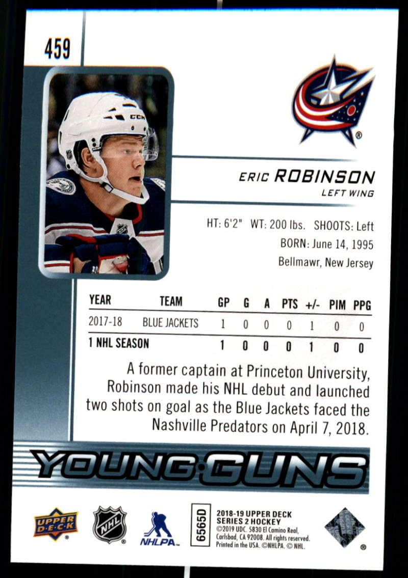 2018-19-Upper-Deck-Series-Two-Hockey-Cards-Pick-From-List-Includes-Young-Guns miniature 405