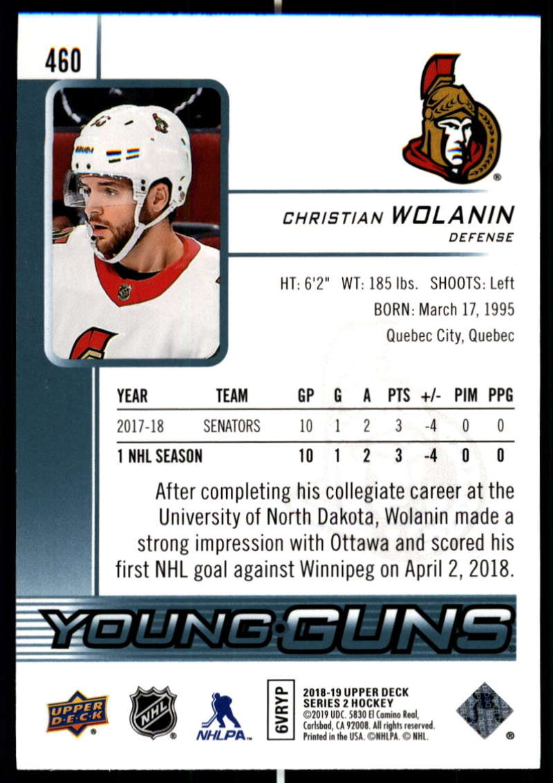 2018-19-Upper-Deck-Series-Two-Hockey-Cards-Pick-From-List-Includes-Young-Guns miniature 407