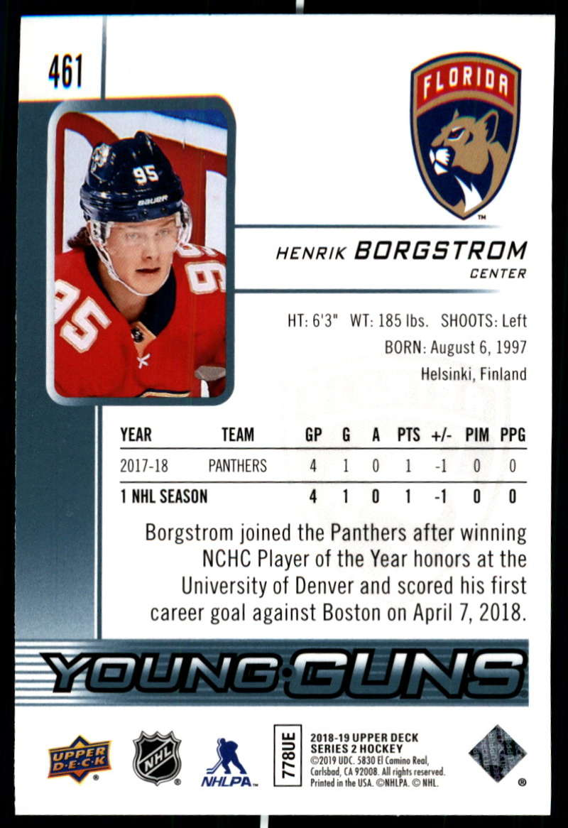2018-19-Upper-Deck-Series-Two-Hockey-Cards-Pick-From-List-Includes-Young-Guns miniature 409