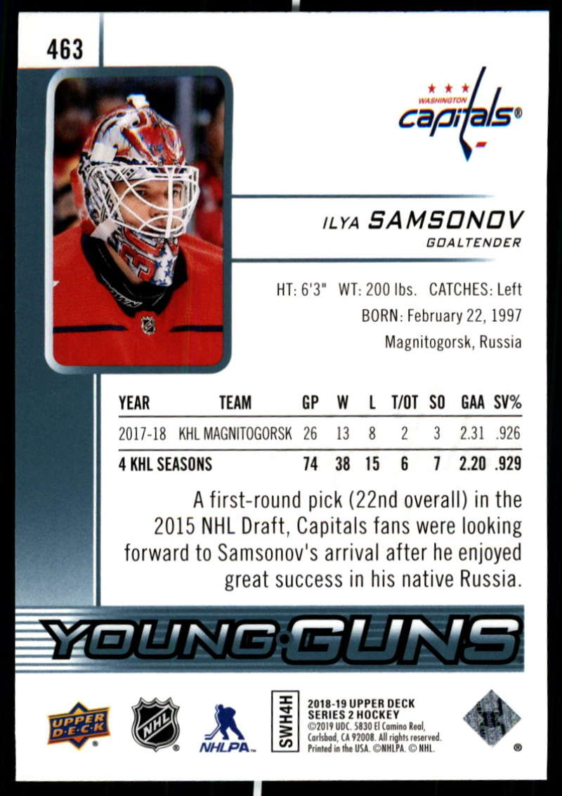2018-19-Upper-Deck-Series-Two-Hockey-Cards-Pick-From-List-Includes-Young-Guns miniature 411