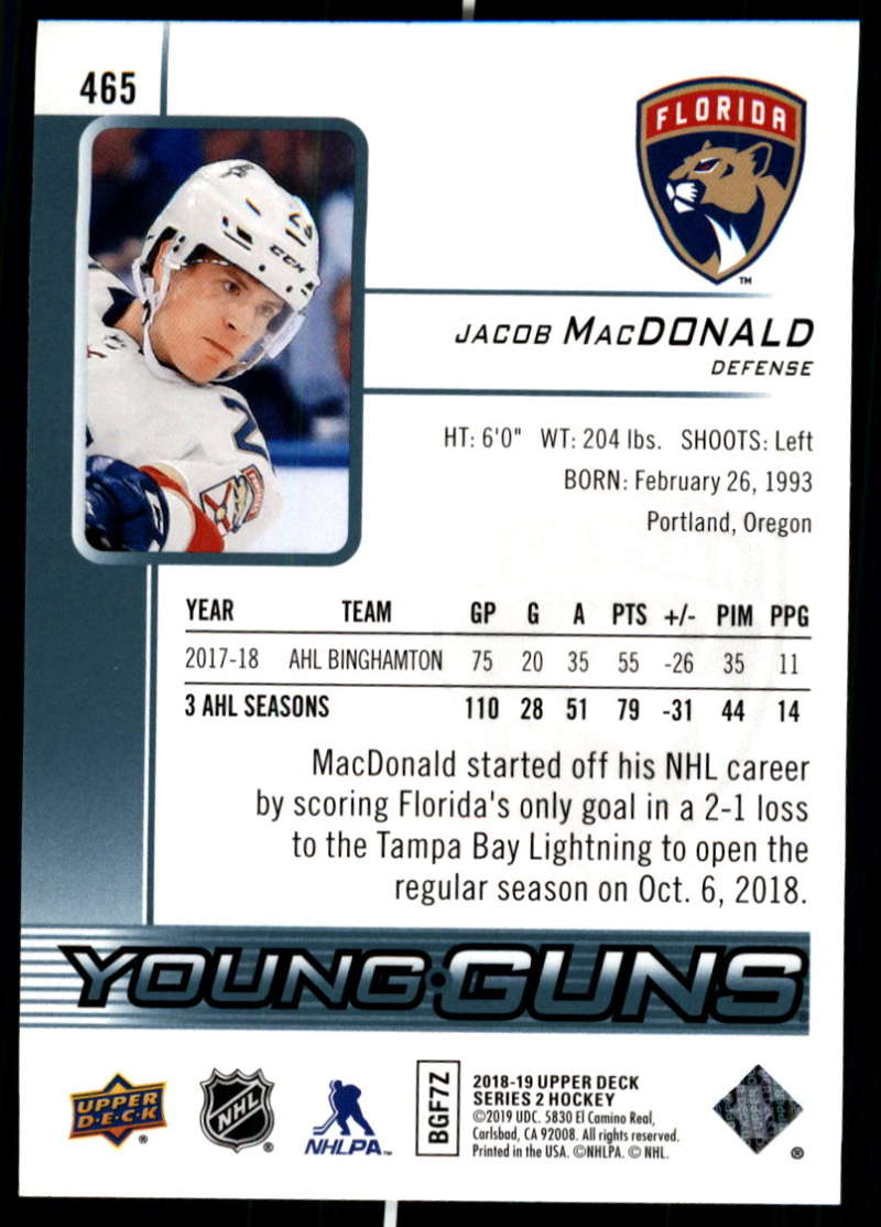 2018-19-Upper-Deck-Series-Two-Hockey-Cards-Pick-From-List-Includes-Young-Guns miniature 413