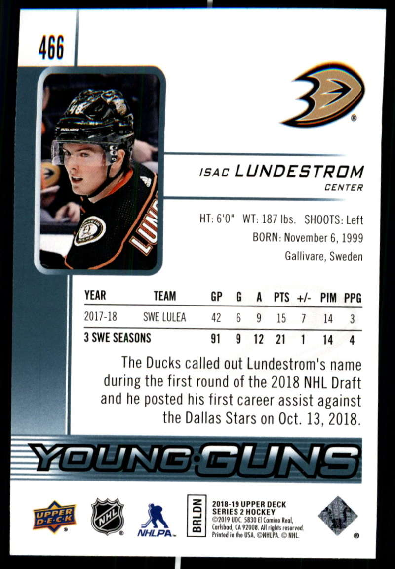2018-19-Upper-Deck-Series-Two-Hockey-Cards-Pick-From-List-Includes-Young-Guns miniature 415