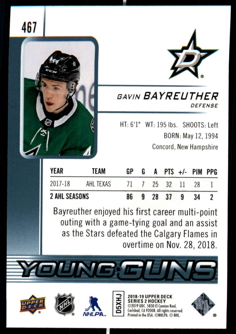 2018-19-Upper-Deck-Series-Two-Hockey-Cards-Pick-From-List-Includes-Young-Guns miniature 417