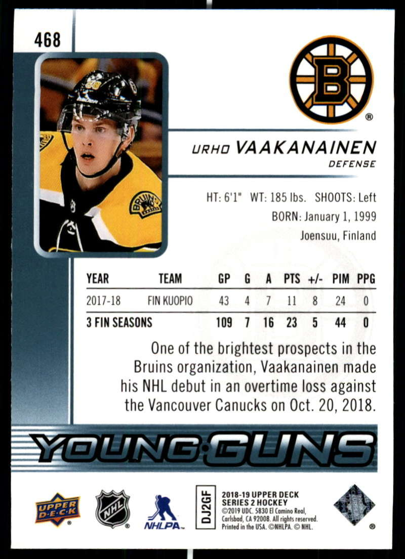 2018-19-Upper-Deck-Series-Two-Hockey-Cards-Pick-From-List-Includes-Young-Guns miniature 419