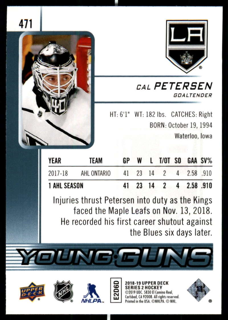 2018-19-Upper-Deck-Series-Two-Hockey-Cards-Pick-From-List-Includes-Young-Guns miniature 425