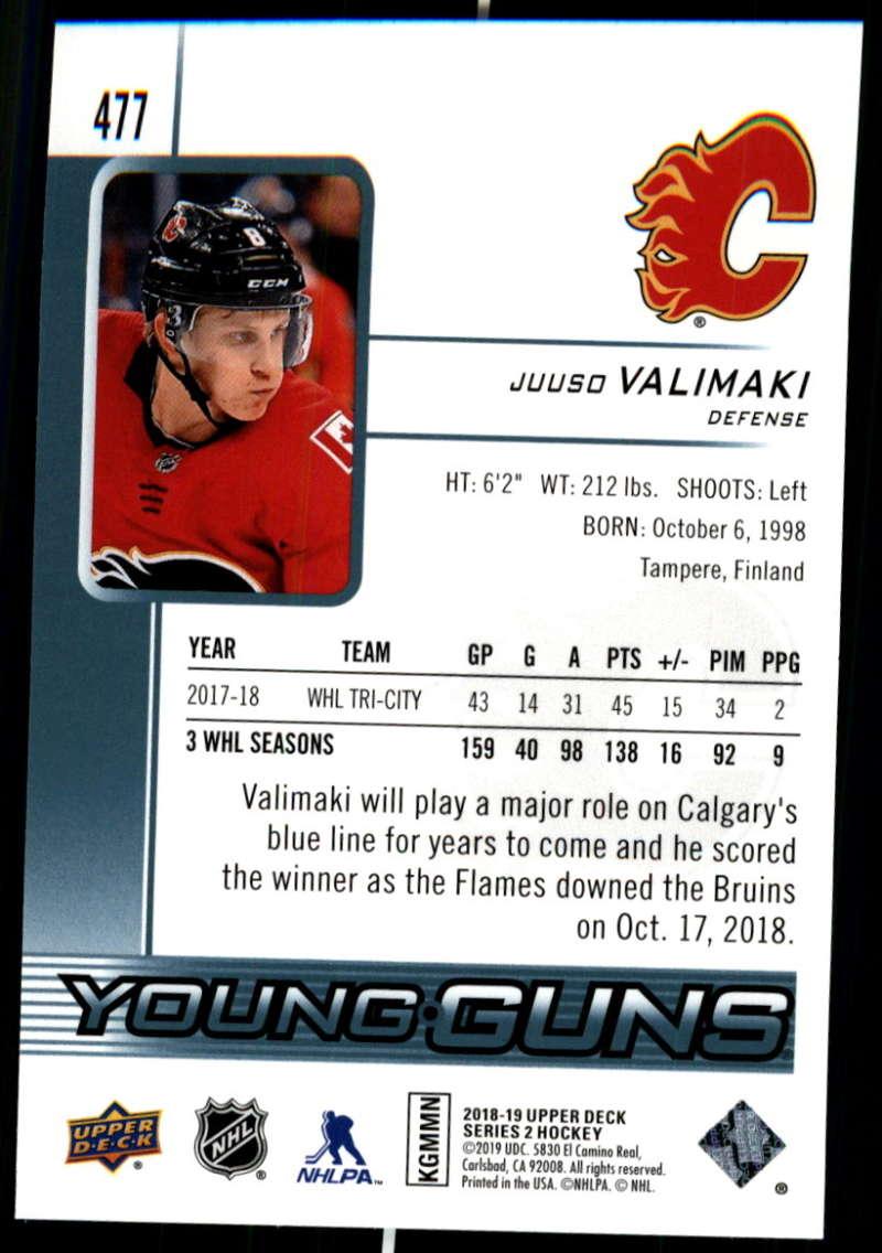 2018-19-Upper-Deck-Series-Two-Hockey-Cards-Pick-From-List-Includes-Young-Guns miniature 435
