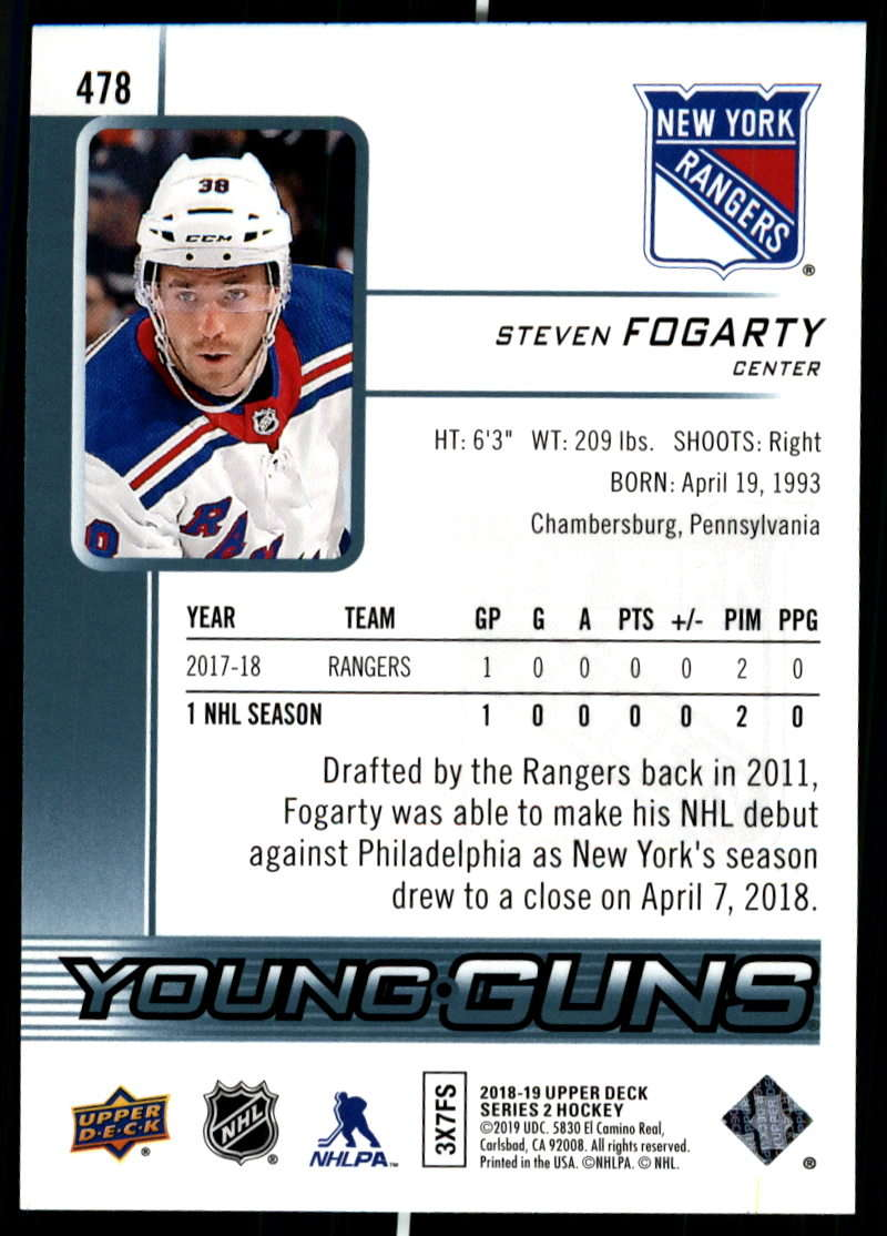 2018-19-Upper-Deck-Series-Two-Hockey-Cards-Pick-From-List-Includes-Young-Guns miniature 437