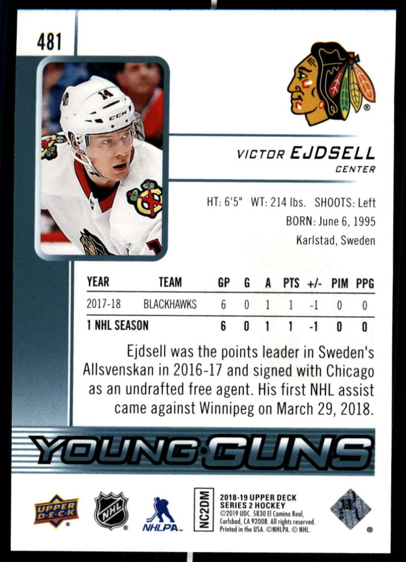 2018-19-Upper-Deck-Series-Two-Hockey-Cards-Pick-From-List-Includes-Young-Guns miniature 441