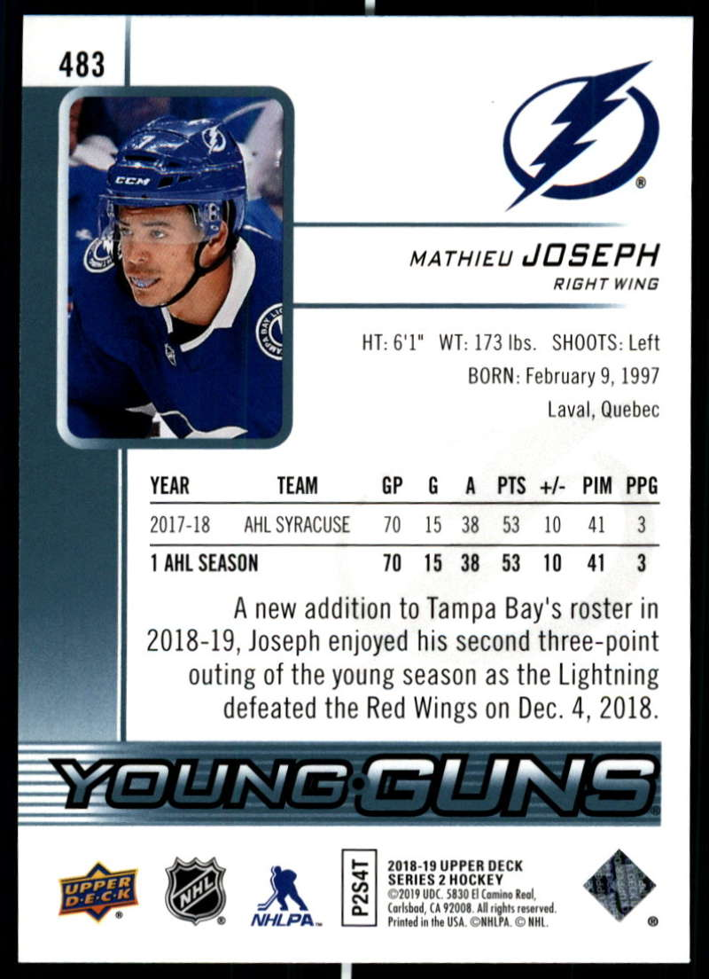 2018-19-Upper-Deck-Series-Two-Hockey-Cards-Pick-From-List-Includes-Young-Guns miniature 445