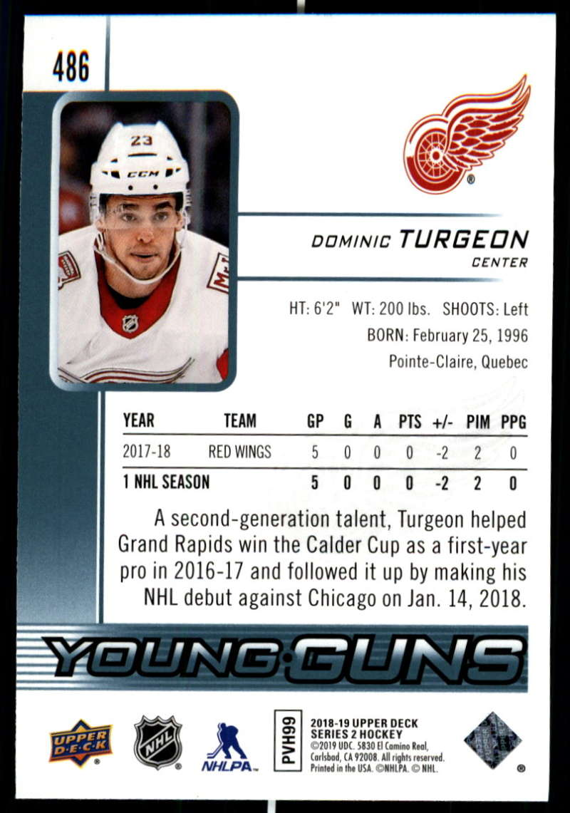 2018-19-Upper-Deck-Series-Two-Hockey-Cards-Pick-From-List-Includes-Young-Guns miniature 451