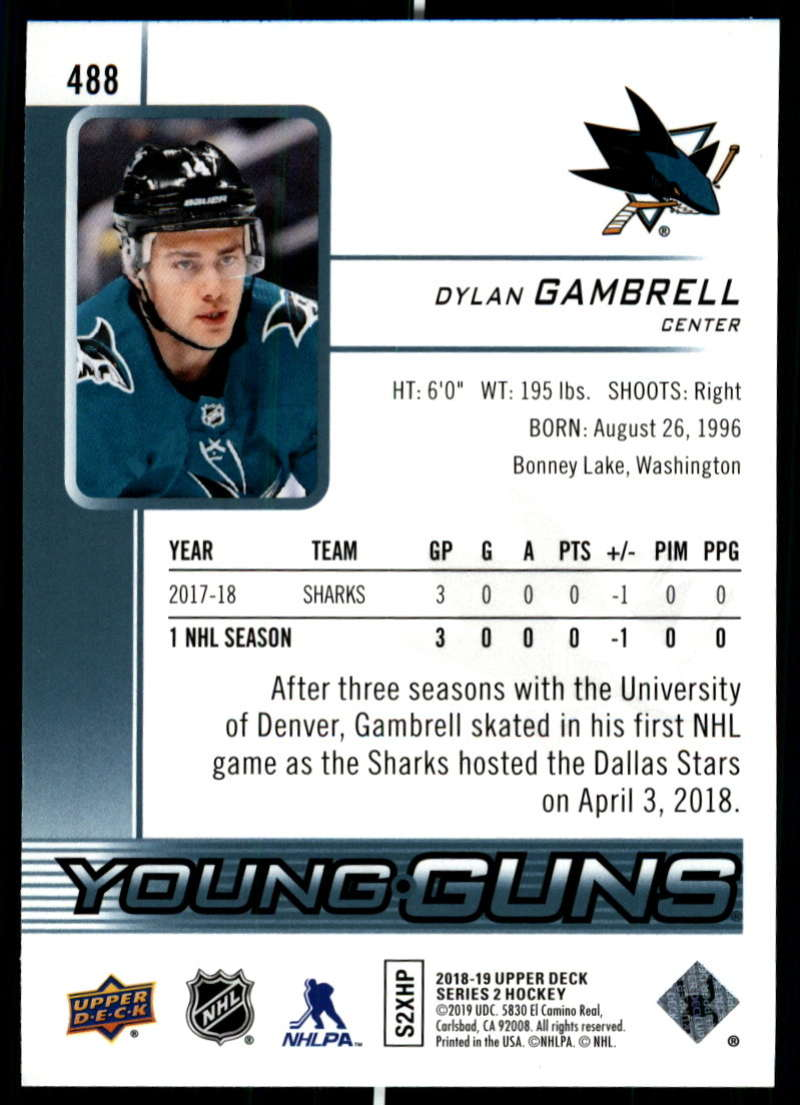 2018-19-Upper-Deck-Series-Two-Hockey-Cards-Pick-From-List-Includes-Young-Guns miniature 455