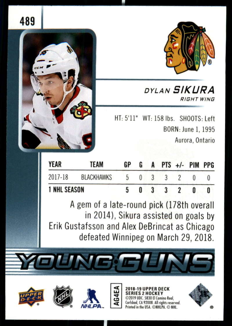 2018-19-Upper-Deck-Series-Two-Hockey-Cards-Pick-From-List-Includes-Young-Guns miniature 457