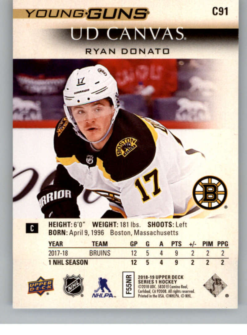 2018-19-Upper-Deck-Canvas-18-19-UD-Series-One-Hockey-Cards-Pick-From-List miniature 109