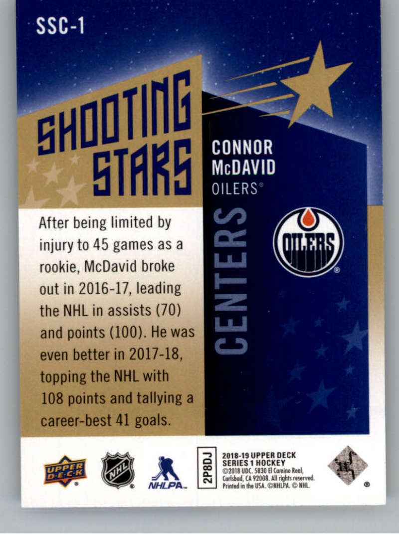 2018-19-Upper-Deck-Shooting-Stars-Blue-or-Black-Insert-Cards-Pick-From-List thumbnail 3