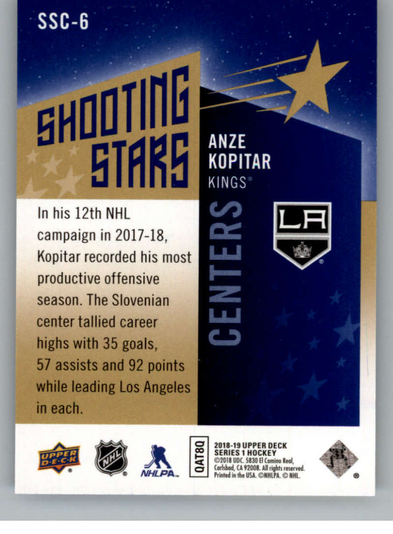 2018-19-Upper-Deck-Shooting-Stars-Blue-or-Black-Insert-Cards-Pick-From-List thumbnail 11
