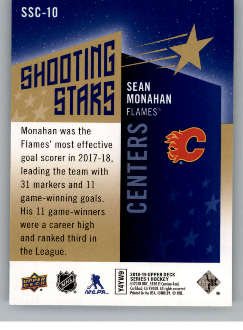 2018-19-Upper-Deck-Shooting-Stars-Blue-or-Black-Insert-Cards-Pick-From-List thumbnail 19
