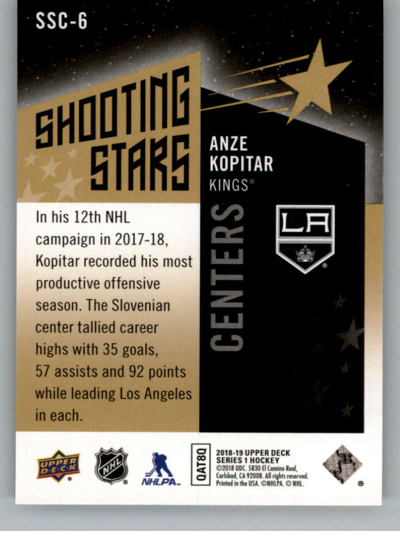 2018-19-Upper-Deck-Shooting-Stars-Blue-or-Black-Insert-Cards-Pick-From-List thumbnail 23