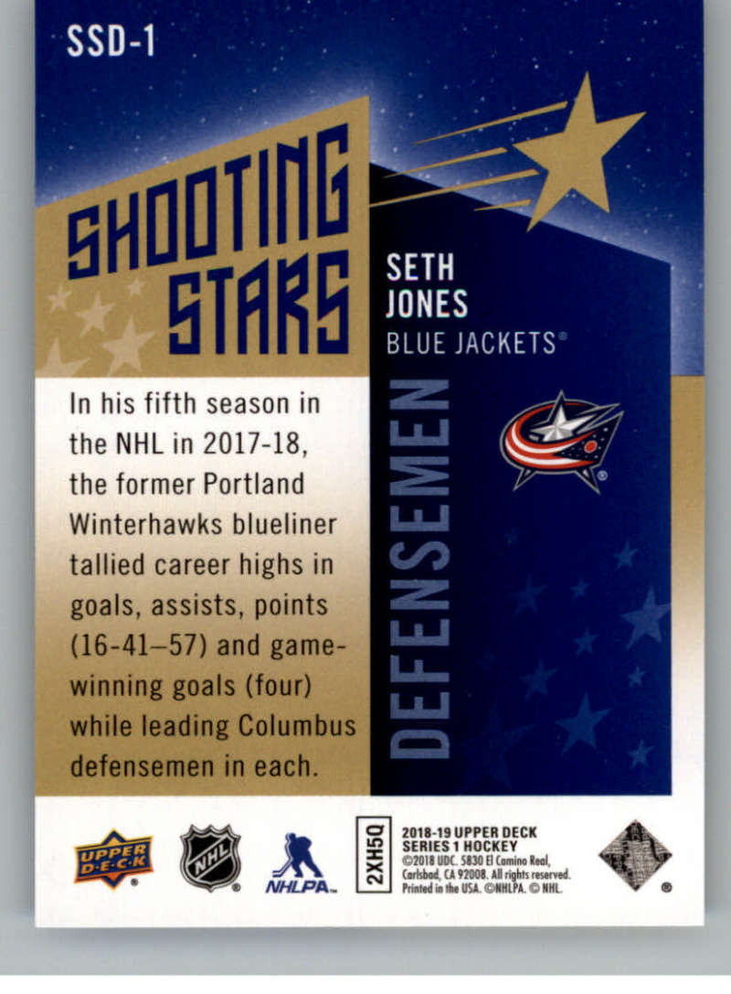 2018-19-Upper-Deck-Shooting-Stars-Blue-or-Black-Insert-Cards-Pick-From-List thumbnail 27