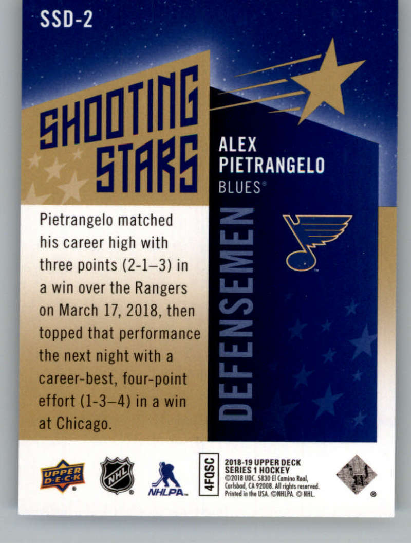 2018-19-Upper-Deck-Shooting-Stars-Blue-or-Black-Insert-Cards-Pick-From-List thumbnail 29