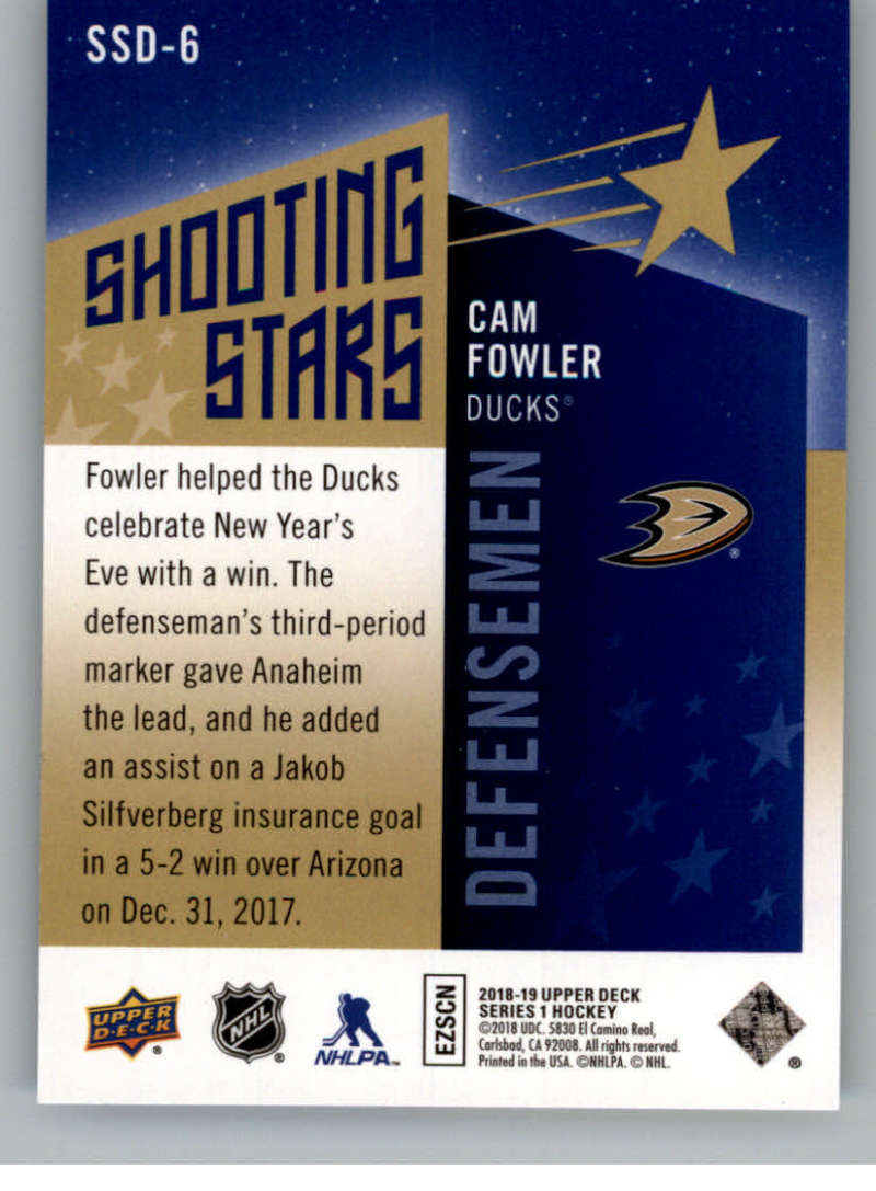 2018-19-Upper-Deck-Shooting-Stars-Blue-or-Black-Insert-Cards-Pick-From-List thumbnail 35