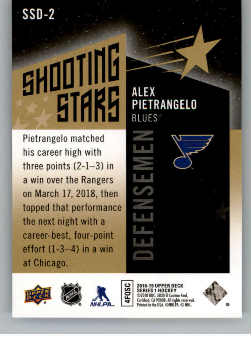 2018-19-Upper-Deck-Shooting-Stars-Blue-or-Black-Insert-Cards-Pick-From-List thumbnail 45