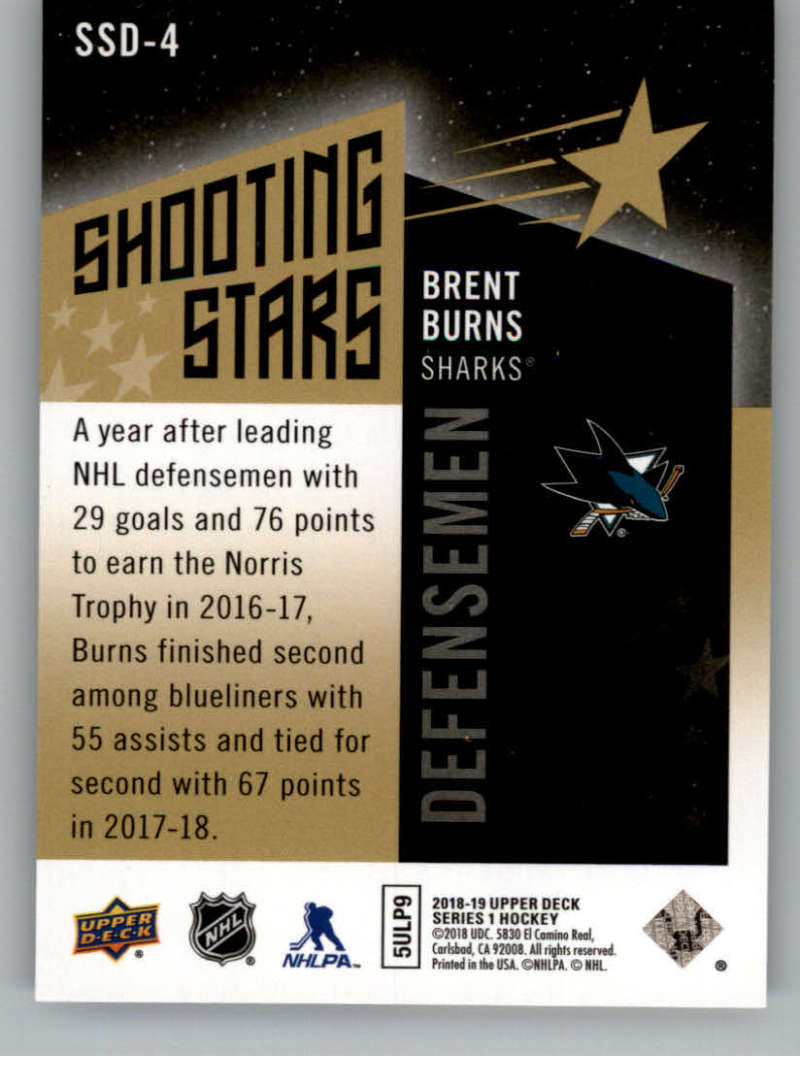 2018-19-Upper-Deck-Shooting-Stars-Blue-or-Black-Insert-Cards-Pick-From-List thumbnail 47