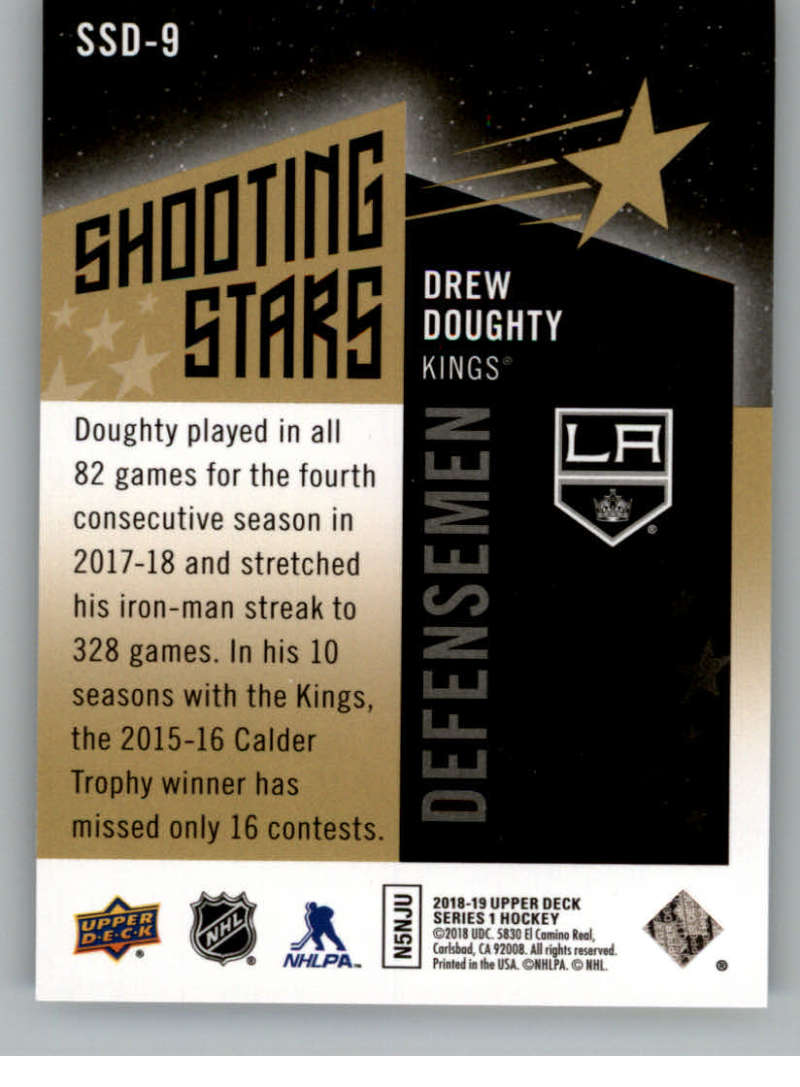 2018-19-Upper-Deck-Shooting-Stars-Blue-or-Black-Insert-Cards-Pick-From-List thumbnail 49