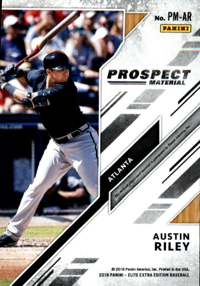 2018-Elite-Extra-Edition-Prospect-Material-Relic-Baseball-Cards-Pick-From-List thumbnail 3