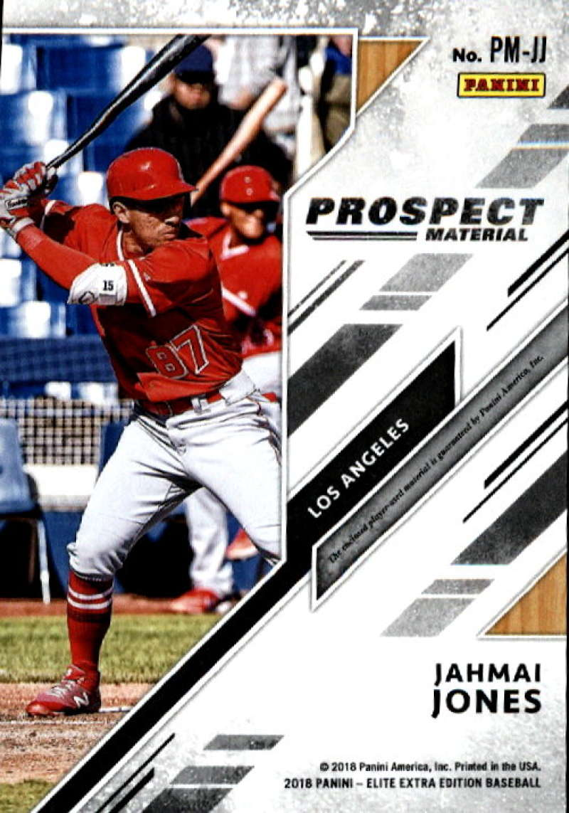 2018-Elite-Extra-Edition-Prospect-Material-Relic-Baseball-Cards-Pick-From-List thumbnail 7
