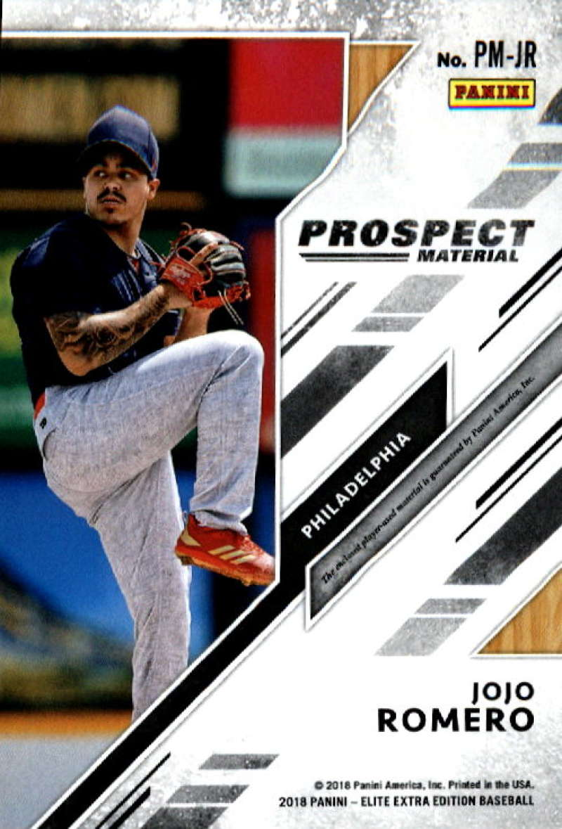 2018-Elite-Extra-Edition-Prospect-Material-Relic-Baseball-Cards-Pick-From-List thumbnail 19