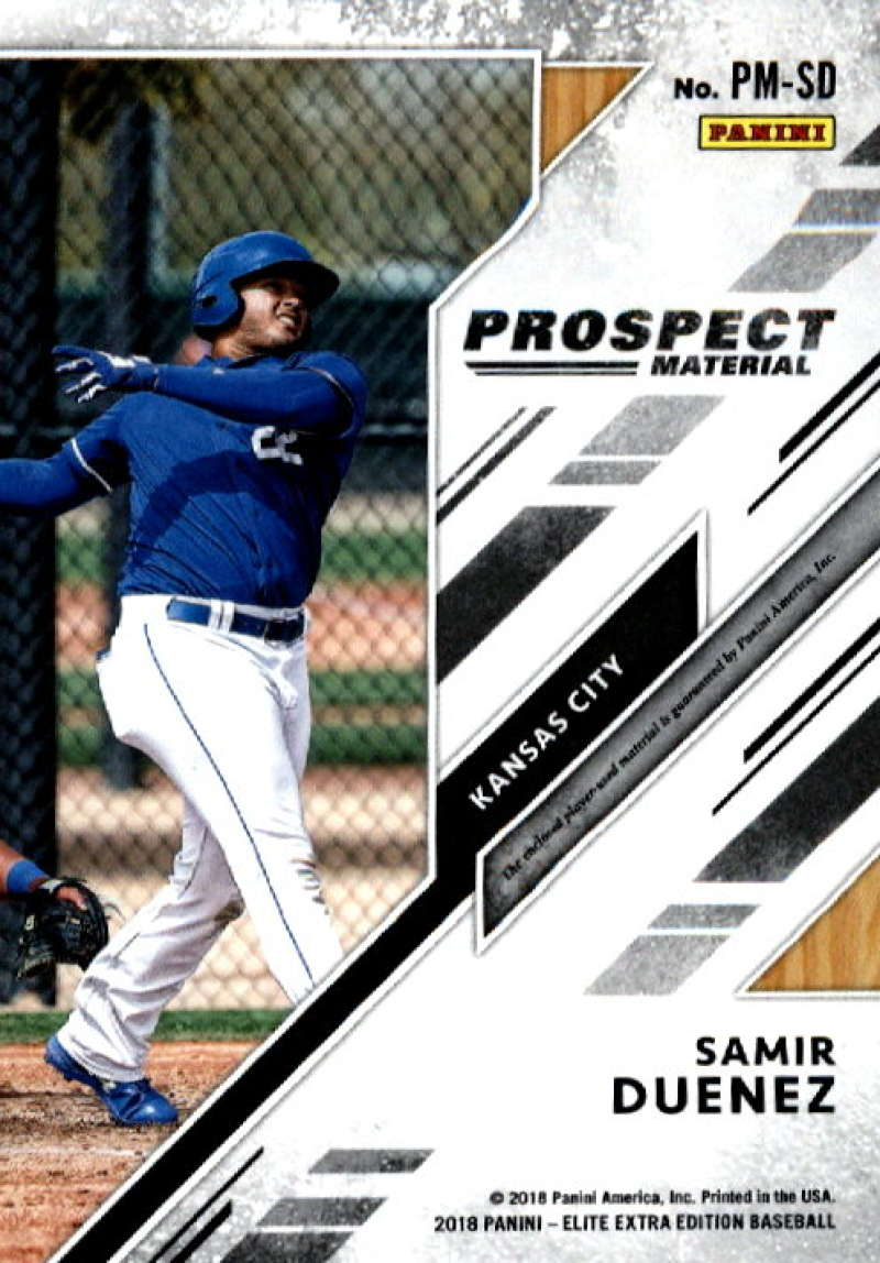 2018-Elite-Extra-Edition-Prospect-Material-Relic-Baseball-Cards-Pick-From-List thumbnail 27