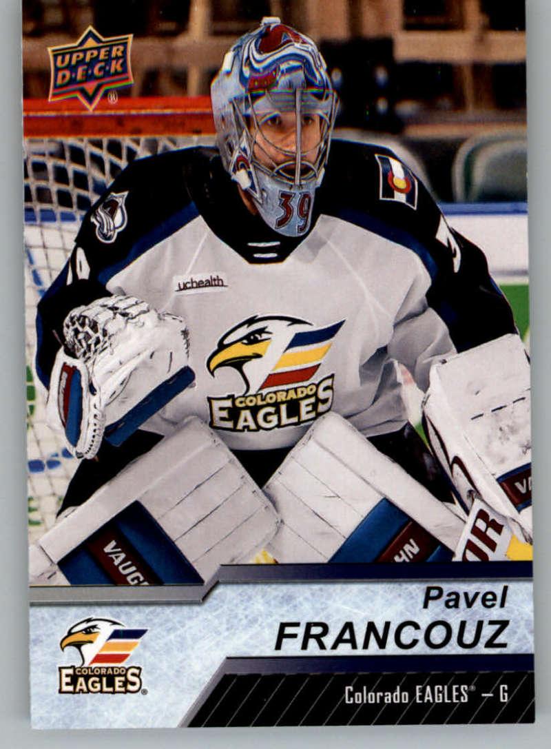 2018-19 Upper Deck AHL Hockey #80 Pavel Francouz Colorado Eagles
