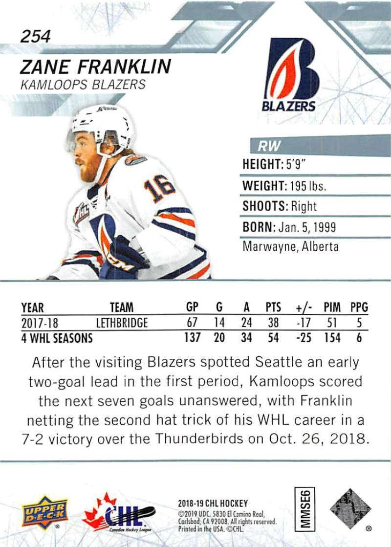 2018-19-Upper-Deck-CHL-Hockey-Cards-Pick-From-List-Base-and-Short-Prints-201-400 miniature 103