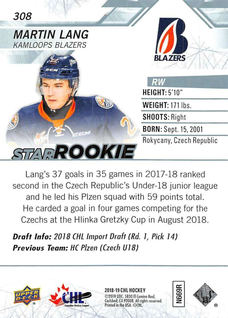 2018-19-Upper-Deck-CHL-Hockey-Cards-Pick-From-List-Base-and-Short-Prints-201-400 miniature 203