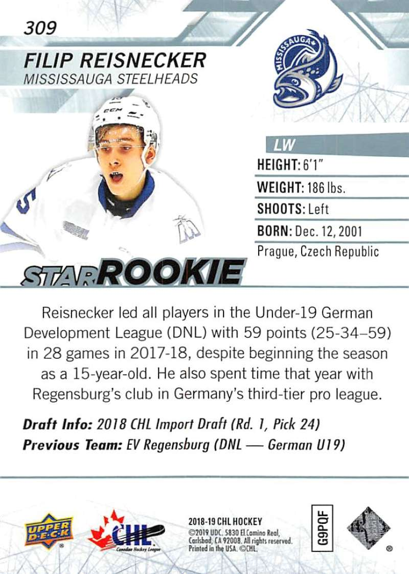 2018-19-Upper-Deck-CHL-Hockey-Cards-Pick-From-List-Base-and-Short-Prints-201-400 miniature 205