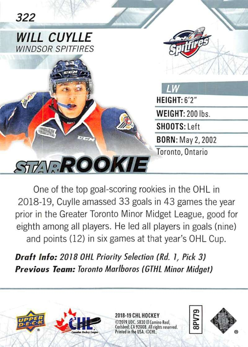 2018-19-Upper-Deck-CHL-Hockey-Cards-Pick-From-List-Base-and-Short-Prints-201-400 miniature 229