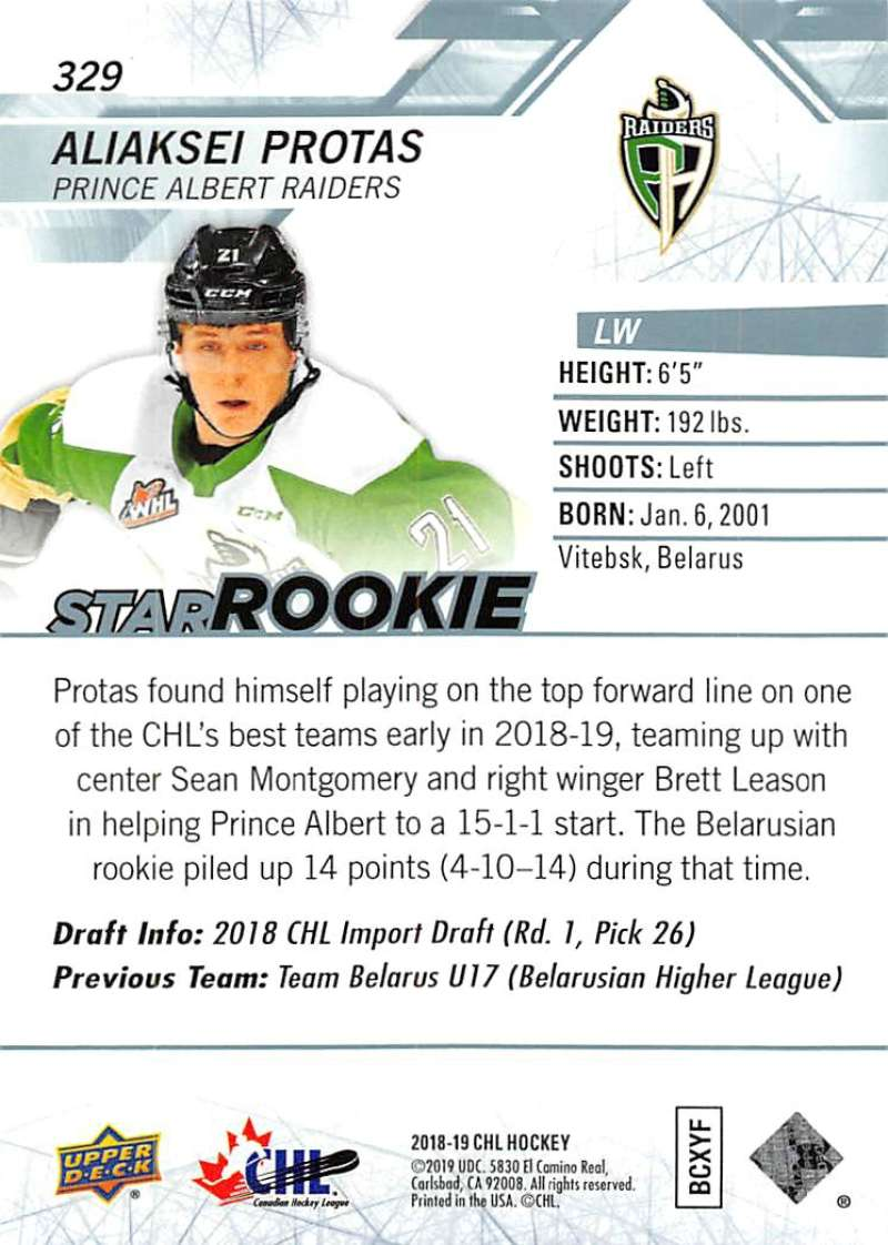2018-19-Upper-Deck-CHL-Hockey-Cards-Pick-From-List-Base-and-Short-Prints-201-400 miniature 243