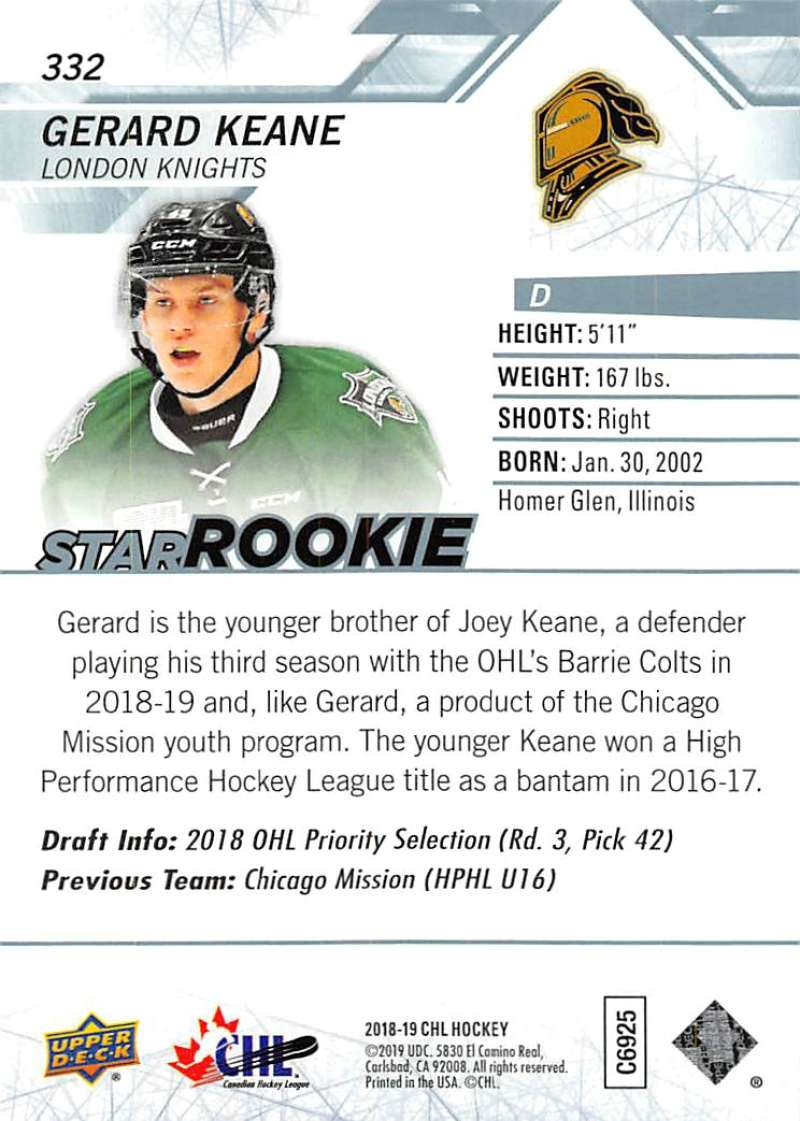 2018-19-Upper-Deck-CHL-Hockey-Cards-Pick-From-List-Base-and-Short-Prints-201-400 miniature 249