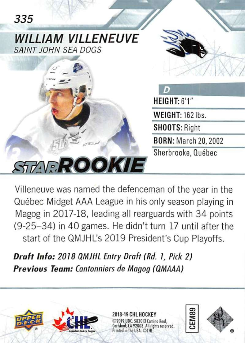 2018-19-Upper-Deck-CHL-Hockey-Cards-Pick-From-List-Base-and-Short-Prints-201-400 miniature 253