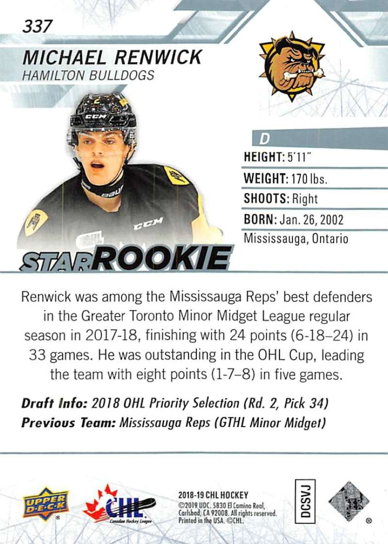 2018-19-Upper-Deck-CHL-Hockey-Cards-Pick-From-List-Base-and-Short-Prints-201-400 miniature 257