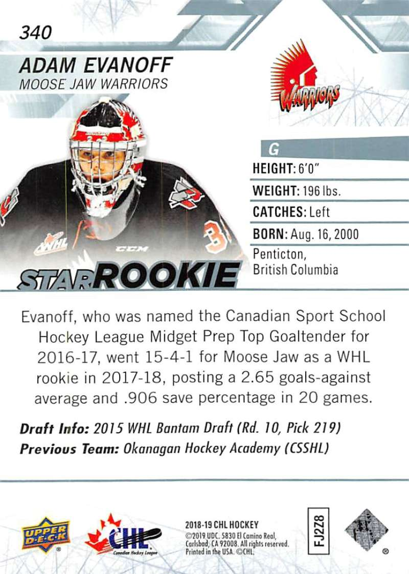 2018-19-Upper-Deck-CHL-Hockey-Cards-Pick-From-List-Base-and-Short-Prints-201-400 miniature 263