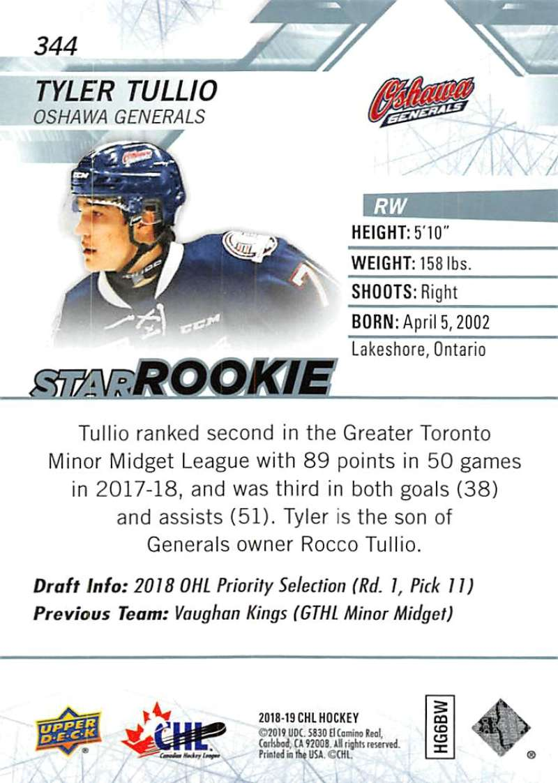 2018-19-Upper-Deck-CHL-Hockey-Cards-Pick-From-List-Base-and-Short-Prints-201-400 miniature 269