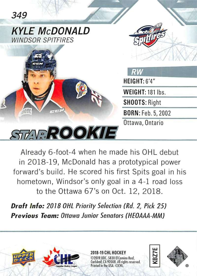 2018-19-Upper-Deck-CHL-Hockey-Cards-Pick-From-List-Base-and-Short-Prints-201-400 miniature 277