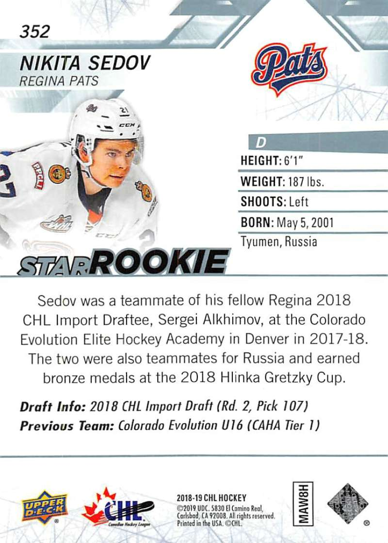 2018-19-Upper-Deck-CHL-Hockey-Cards-Pick-From-List-Base-and-Short-Prints-201-400 miniature 281
