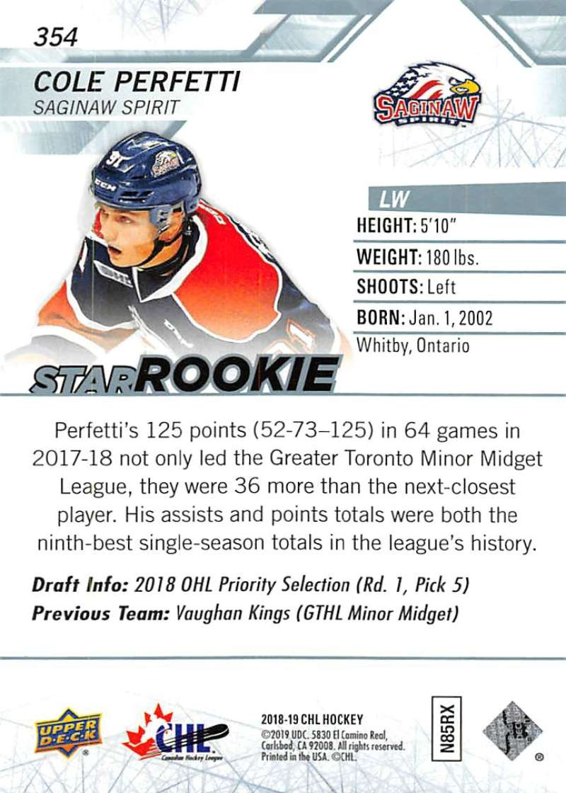 2018-19-Upper-Deck-CHL-Hockey-Cards-Pick-From-List-Base-and-Short-Prints-201-400 miniature 285